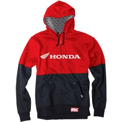 Honda Duoble Lined Zip-UP Hoodies