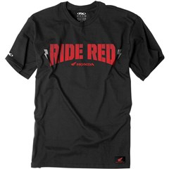 Honda Ride Red Bolt T-Shirts
