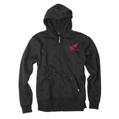 Honda Ride Red Moto Zip Hoody