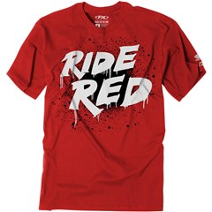 Honda Splatter Red Youth T-Shirt