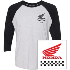 Honda Wing Baseball T-Shirts