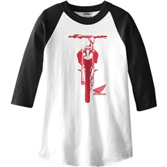 Honda Youth 3/4 Sleve T-Shirt