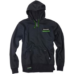 Kawasaki Lines Unlined Zip-Up Hoodies