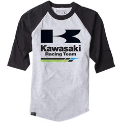 Kawasaki Racing Baseball T-Shirts