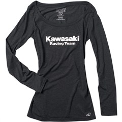 Kawasaki Racing Womens Long Sleeve Shirts