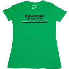 Kawasaki Stripes Womens T-Shirts