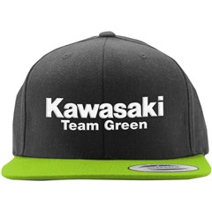 Kawasaki Team Green Youth Snapback Hat