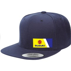 Suzuki Wedge Snapback Hat