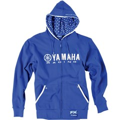 Yamaha Racing Lined Zip-UP Hoodies