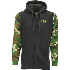 Fly Camo Zip Up Hoodies