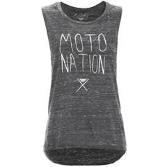 Moto Nation Muscle Womens T-Shirts