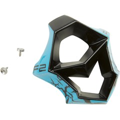 Mouth Piece for F2 Carbon-Fractured Helmet