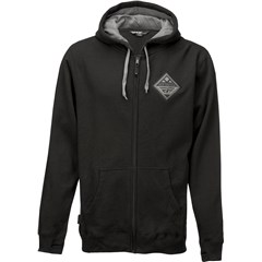 Patch Zip Up Hoody