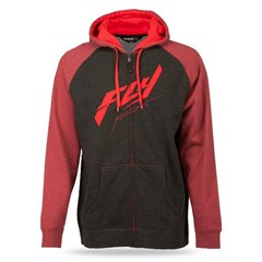 Raglan Zip Up Hoody