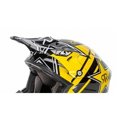 Visor for Kinetic Fullspeed Rockstar Helmet