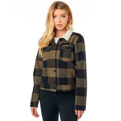 Burnett Womens Lined Flannel