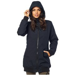 Dazed Womens Long Bomber Jacket