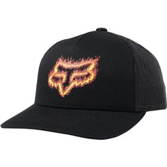 Flame Head Snapback Youth Hats