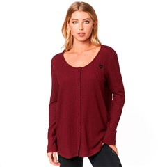 Haines LS Thermal Womens Tops