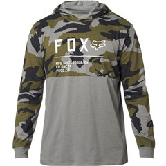 Non Stop Camo Hooded Long Sleeve