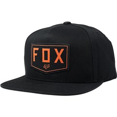 Shield Snapback Hat