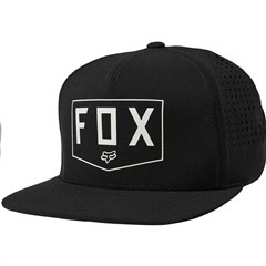 Shielded Snapback Hat