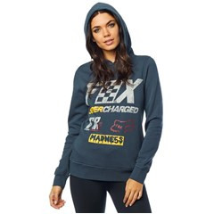 Supercharged Womens Pullover Hoody
