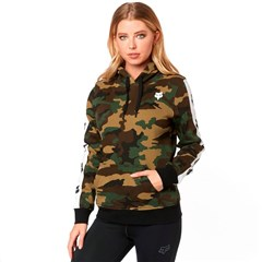 Team Fox Camo Womens Pullover Hoodies