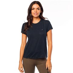 Washed Out SS Pocket Crew Womens T-Shirts