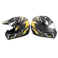 Double Lens Shield for GM37X and GM47S Helmets