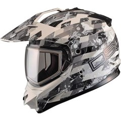 GM11 Checkered DSG Snow Helmets