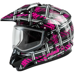 GM11S Pink Ribbon Riders Womens Helmets
