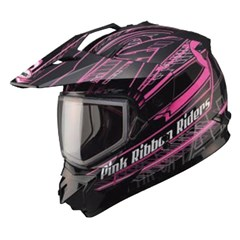 GM11S Pink Ribbon Snow Sport Helmet
