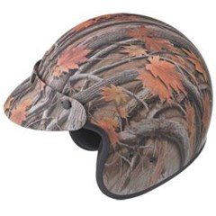 GM2 Leaf Camoflauge Youth Helmet