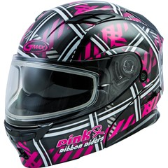 MD-01S Pink Ribbon Riders Womens Helmet