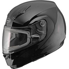 MD04 Solid Snow Helmet with Electric Shield
