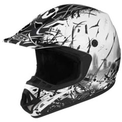 Visor for GM46X-1 Escape Graphic Helmet - Md-3XL - White