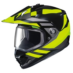 DS-X1 Lander Snow Helmets with Dual Lens Shield