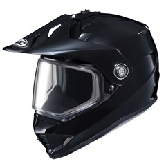 DS-X1 Solid Snow Helmets with Dual Lens Shield