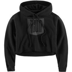 Stacker Crop Womens Hoodies