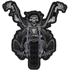 Death Rider Embroidered Patch