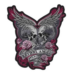 Eternal Love Embroidered Patch