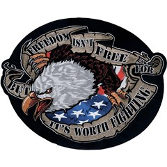 Freedom Eagle Embroidered Patch