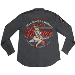 Full Service Embroidered Work Shirts
