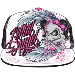 Lethal Angel Girl Skull Womens Hatts