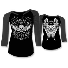 Ready to Ride Womens Raglan Shirts