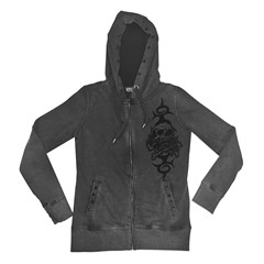 Skull and Crossbones Womens Hoody