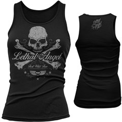 Skull N Crossbones Womens Tank Tops