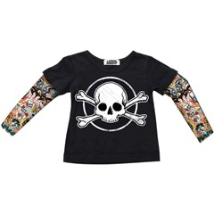 Skull Toddler T-Shirts