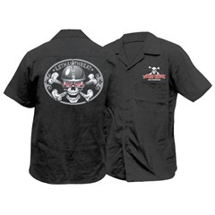 Spiked Helmet Skull Work Shirt